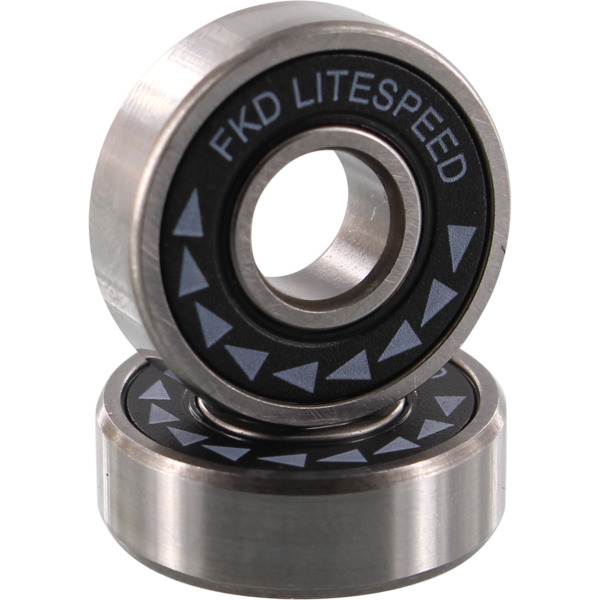 FKD Bearings Litespeed Black / Silver Skateboard Bearings