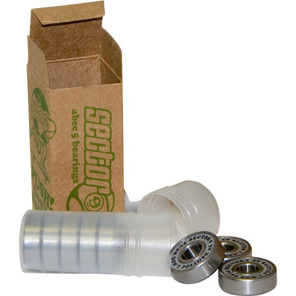 Sector 9 8mm PDP ABEC 5 Skateboard Bearings