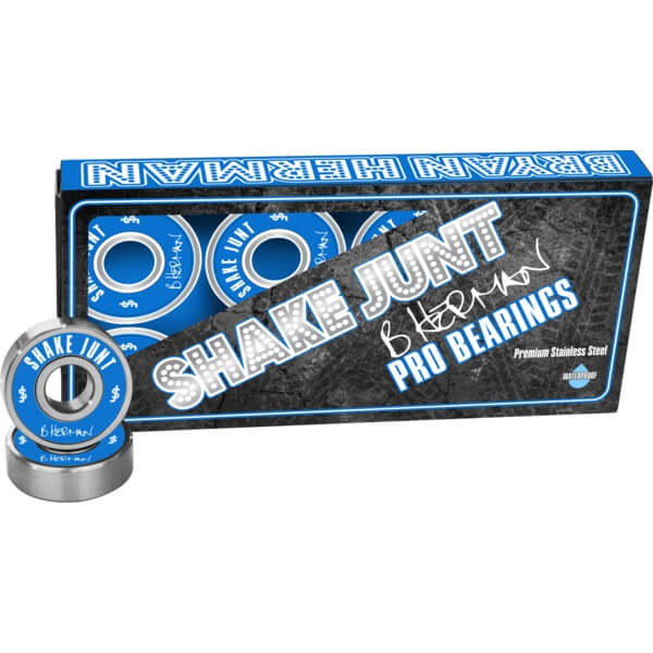 Shake Junt Bryan Herman 8mm Pro ABEC 7 Skateboard Bearings