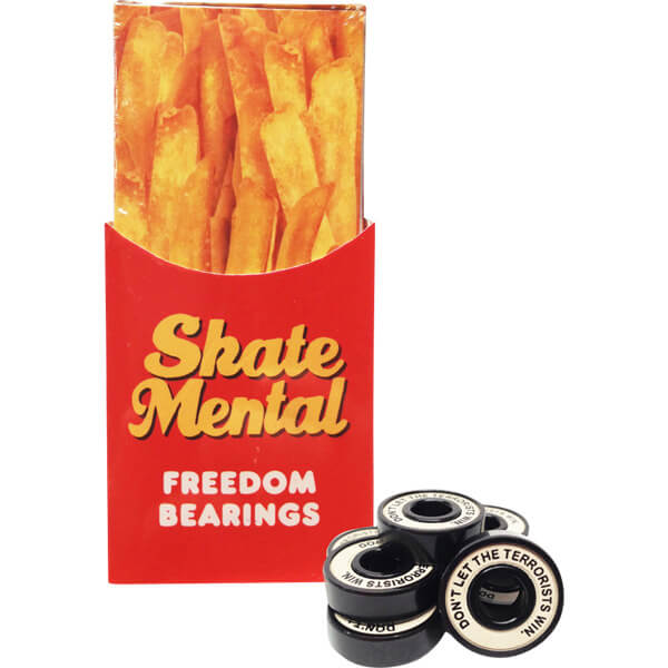 Skate Mental Freedom Abec 5 Bearings