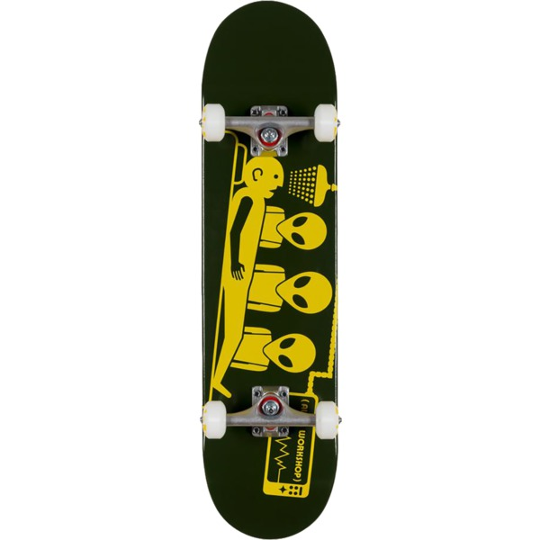 "Alien Workshop Abduction Green / Yellow Complete Skateboard - 8"" x 31.625"""
