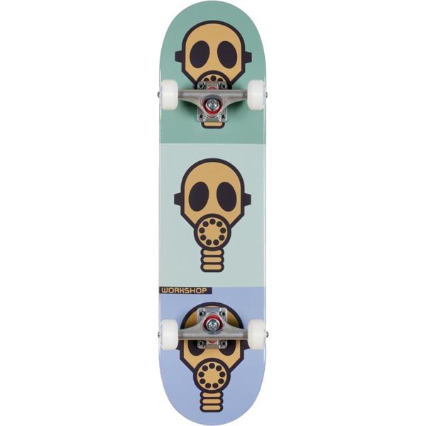"Alien Workshop Gas Mask Pastel Complete Skateboard - 7.75"" x 31.625"""