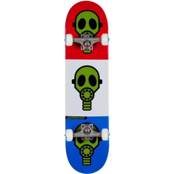 "Alien Workshop Gas Mask Bright Complete Skateboard - 8"" x 31.625"""