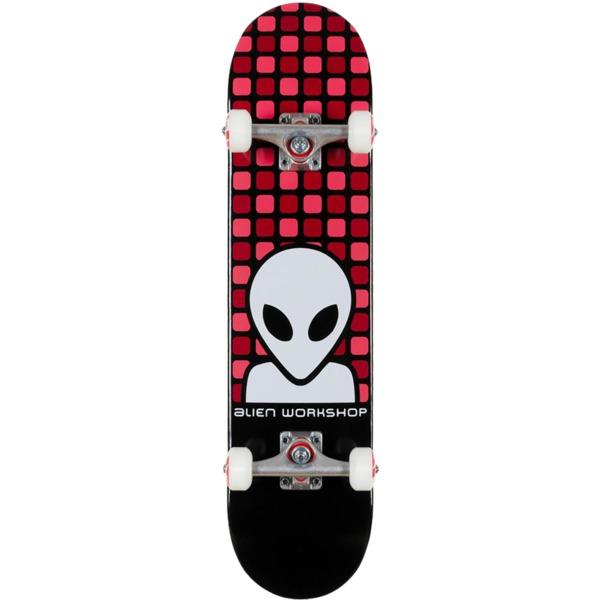 """Alien Workshop Matrix Black Mid Complete Skateboards - 7.5"""" x 31.6"""""""