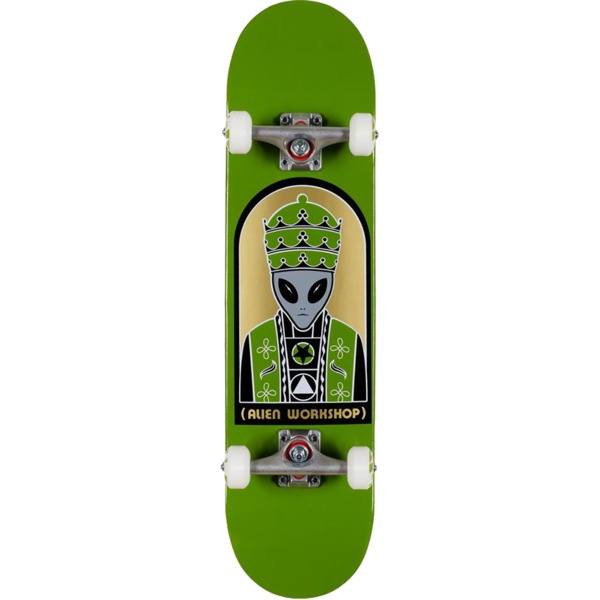 "Alien Workshop Priest Green Complete Skateboard - 7.75"" x 31.625"""