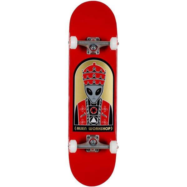"Alien Workshop Priest Red Complete Skateboard - 8.25"" x 31.625"""