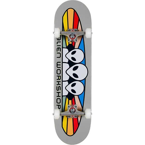 """Alien Workshop Spectrum Gray Complete Skateboard - 7.75"""" x 31.625"""""""