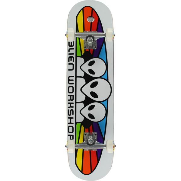 "Alien Workshop Spectrum White Complete Skateboard - 8"" x 31.625"""