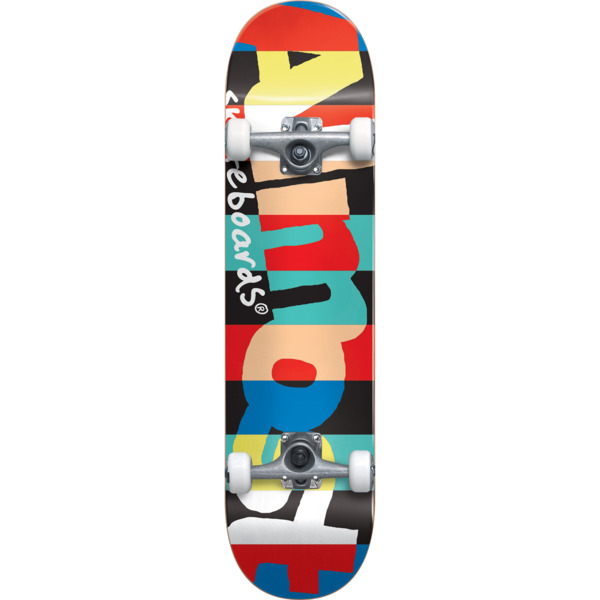 """Almost Skateboards Rugby Resin Mini Complete Skateboard First Push - 7.37"""" x 29"""""""