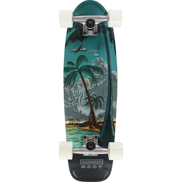"Aluminati Skateboards Bimini Jerry JF1 Cruiser Complete Skateboard - 8.12"" x 28"""