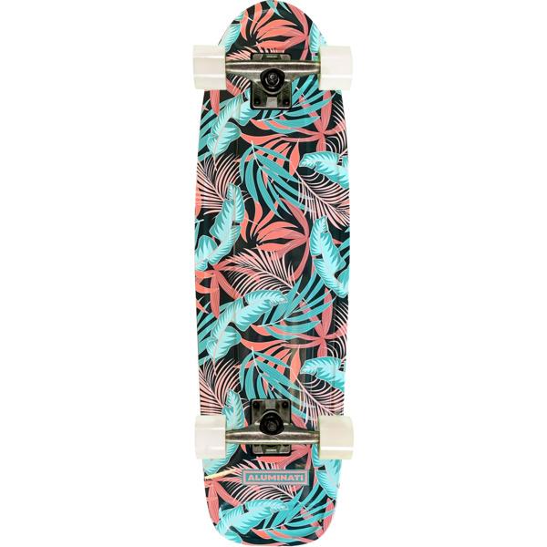 "Aluminati Skateboards Bloomer Jerry Cruiser Complete Skateboard - 8.12"" x 28"""