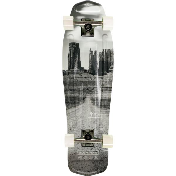 """Aluminati Skateboards Desert Mullet Cruiser Complete Skateboard - 8.12"""" x 28"""""""