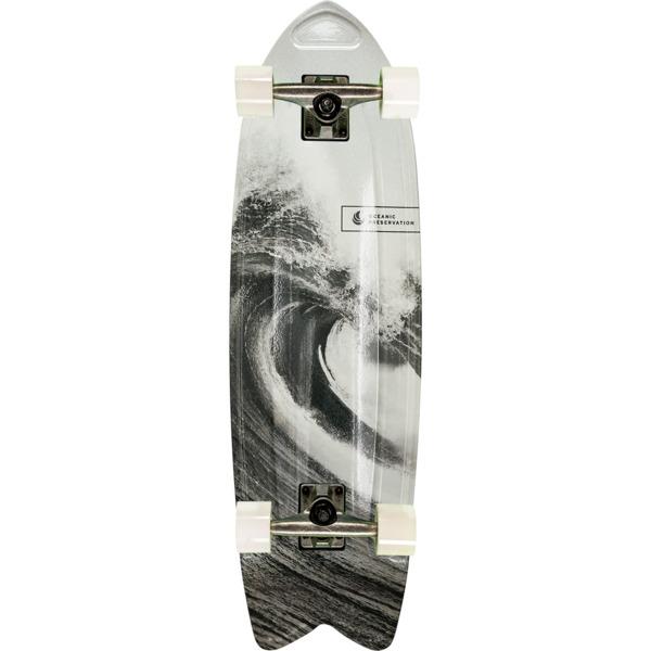"Aluminati Skateboards Ocean Fish Cruiser Complete Skateboard - 8.12"" x 28"""