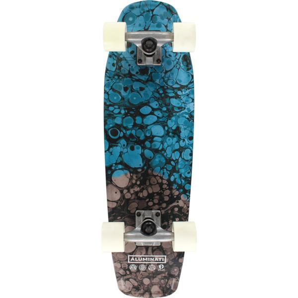 "Aluminati Skateboards Osmosis Tombstone Cruiser Complete Skateboard - 8"" x 28"""