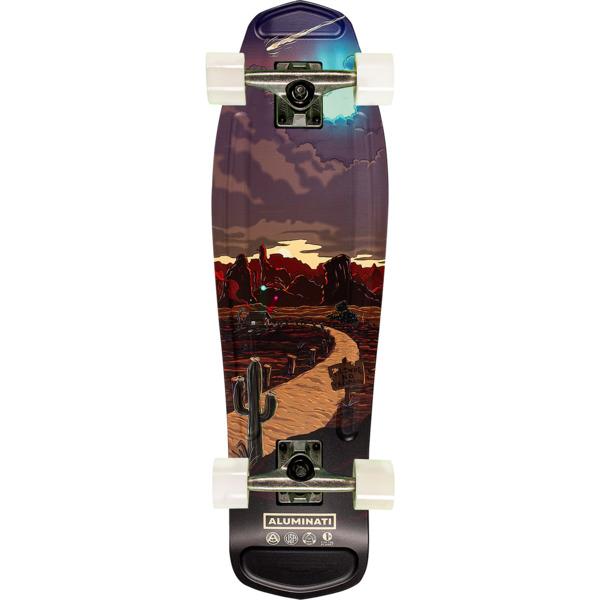"""Aluminati Skateboards Skinwalker Mullet Cruiser Complete Skateboard - 8.12"""" x 28"""""""