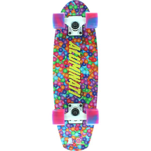 Aluminati Skateboards Skittlicious A Frame Cruiser