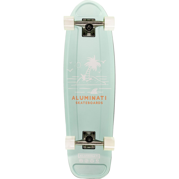 "Aluminati Skateboards Surf Jerry Cruiser Complete Skateboard - 8.12"" x 28"""
