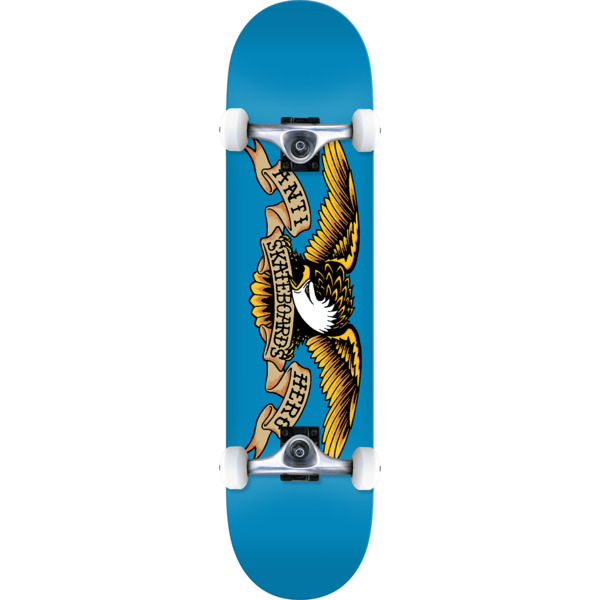 "Anti Hero Skateboards Classic Eagle Complete Skateboard - 7.5"" x 31.25"""