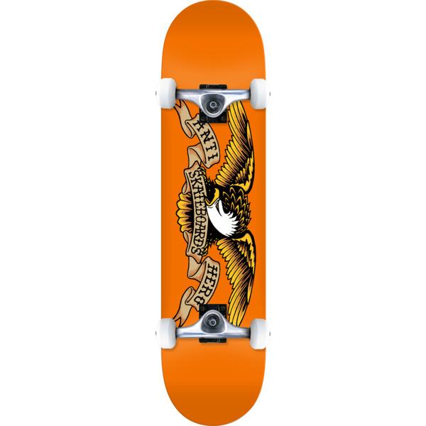 "Anti Hero Skateboards Classic Eagle Complete Skateboard - 7.75"" x 31.625"""
