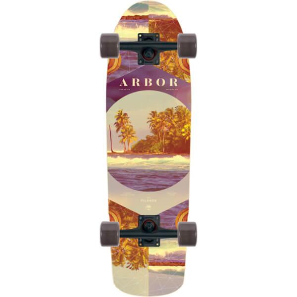 "Arbor Skateboards Photo Collection Pilsner Cruiser Complete Skateboard - 8.25"" x 28.75"""