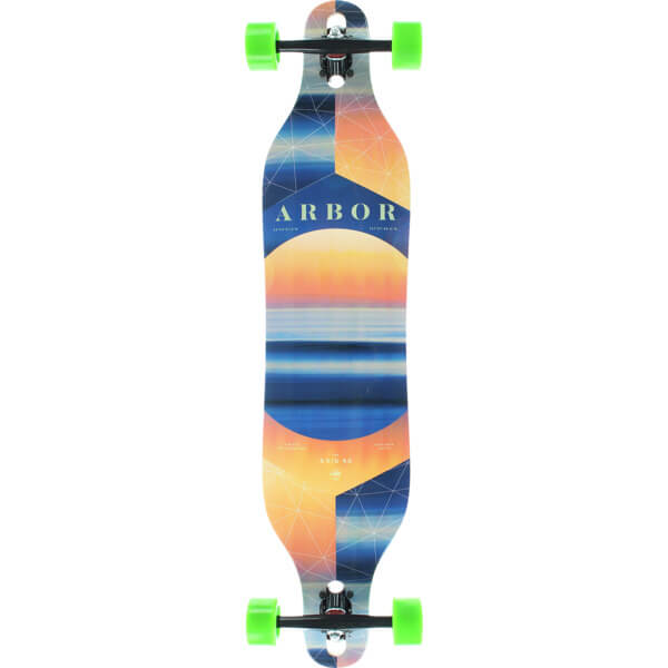 """Arbor Skateboards Photo Collection Axis Longboard Complete Skateboard - 8.8"""" x 40"""""""