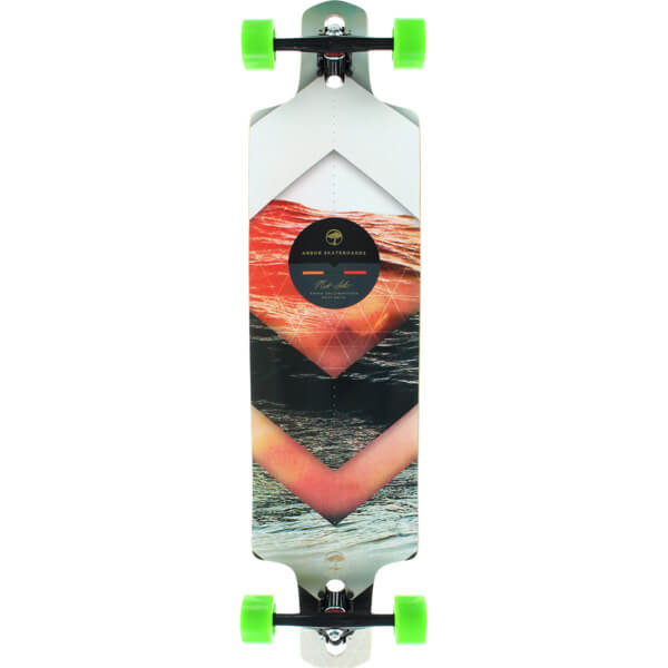 "Arbor Skateboards Photo Collection Dropcruiser Longboard Complete Skateboard - 9.75"" x 38"""