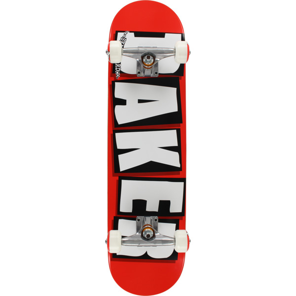 "Baker Skateboards Brand Logo Red / White / Black Complete Skateboard - 8"" x 32"""