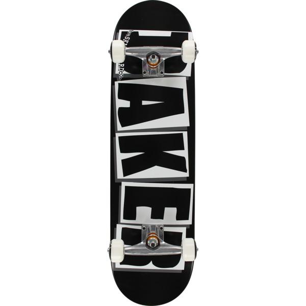 """Baker Skateboards Brand Logo Black / White Complete Skateboard - 8.25"""" x 32"""""""
