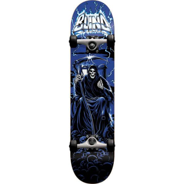 Blind Skateboards Lightning Blue Complete Skateboard - 8 x