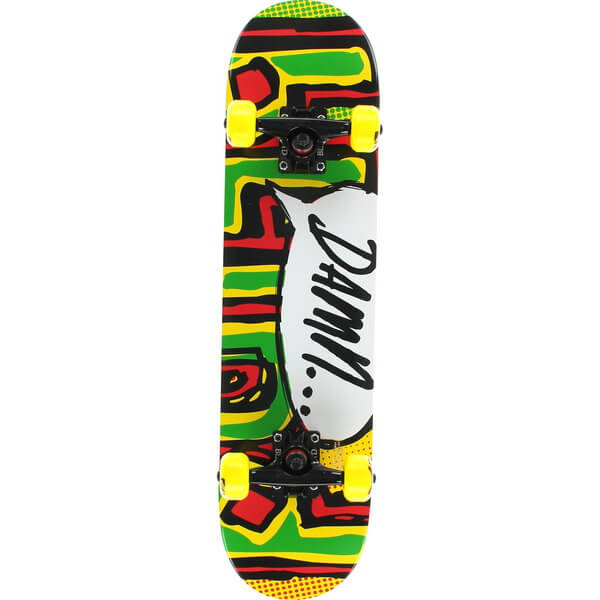 Blind Skateboards Og Damn Bubble Rasta Complete Skateboard