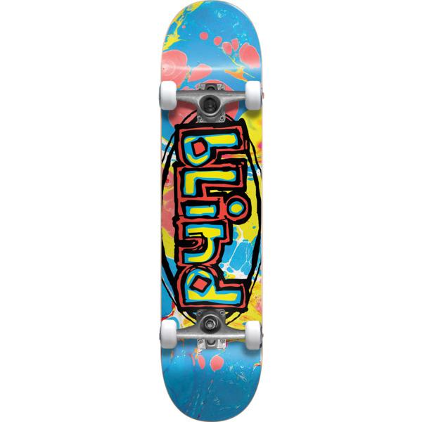 """Blind Skateboards OG Oval Mid Complete Skateboards - 7.62"""" x 31.75"""""""