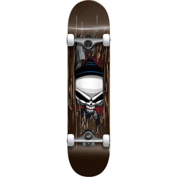 "Blind Skateboards Reaper Axe Brown Mini Complete Skateboard - 7.25"" x 29.2"""
