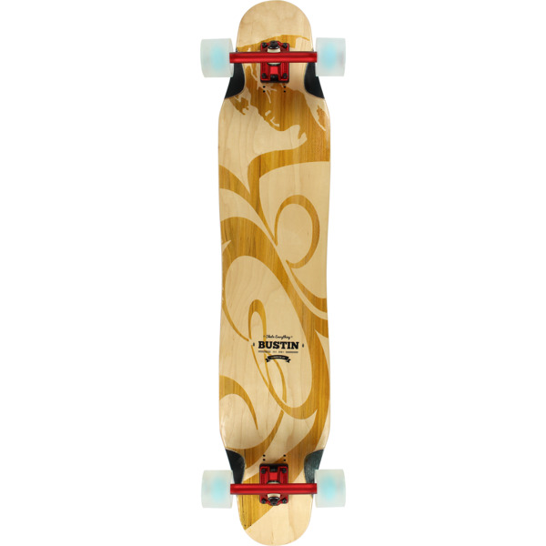 "Bustin Skateboards Daenseu 45 Rori Longboard Complete Skateboard - 8.9"" x 44.9"""