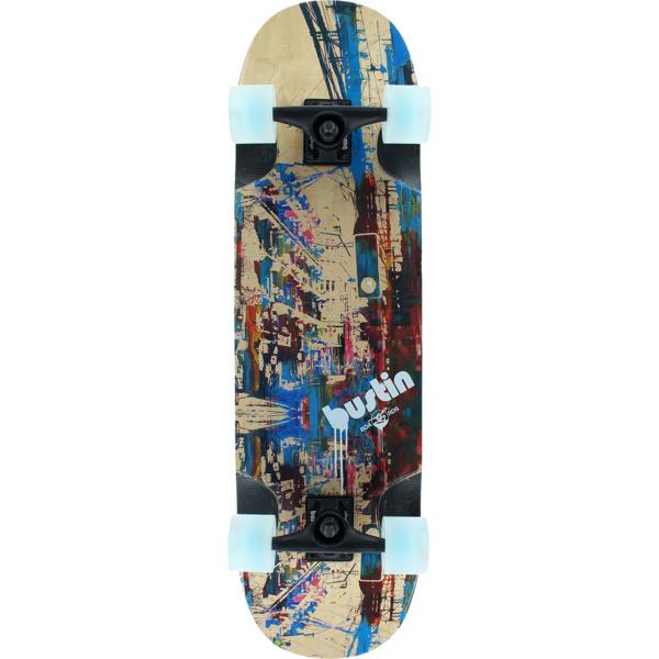 "Bustin Skateboards Yoface 34 Barcelona Longboard Complete Skateboard - 9.1"" x 34.1"