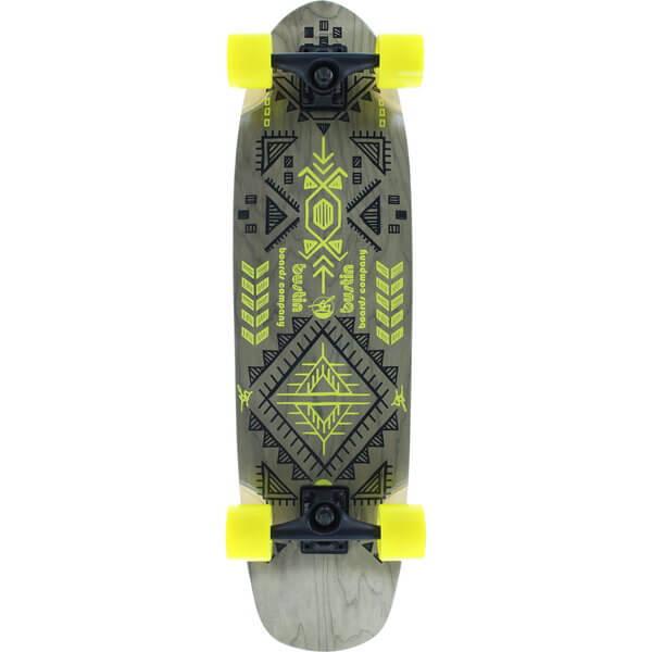 Bustin Boards Modela Aztec Yellow Complete Longboard