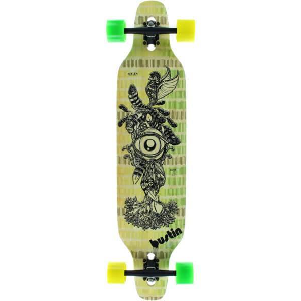 Bustin Boards Machete 39 All Knowing Complete Longboard