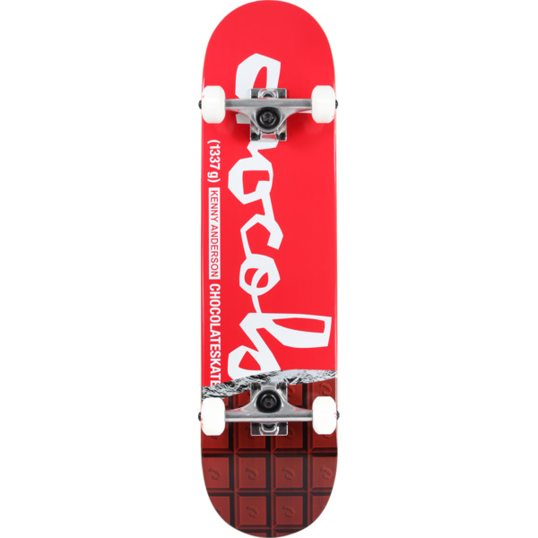 "Chocolate Skateboards Kenny Anderson Chocolate Bar Complete Skateboard - 7.75"" x 31.875"""
