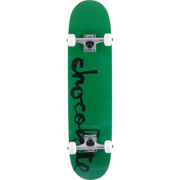 "Chocolate Skateboards Raven Tershy OG Chunk Mid Complete Skateboards - 7.62"" x 31"""