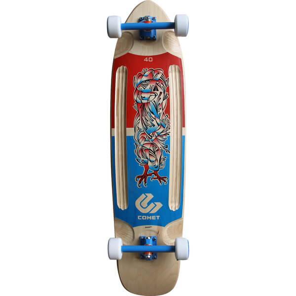 Comet Ethos 40 Complete Longboard Skateboard