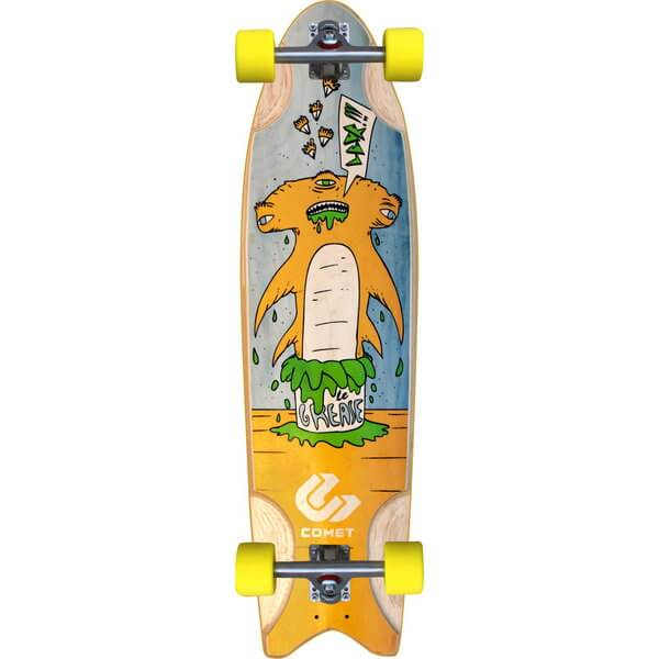 Comet Grease Hammer Complete Longboard Skateboard