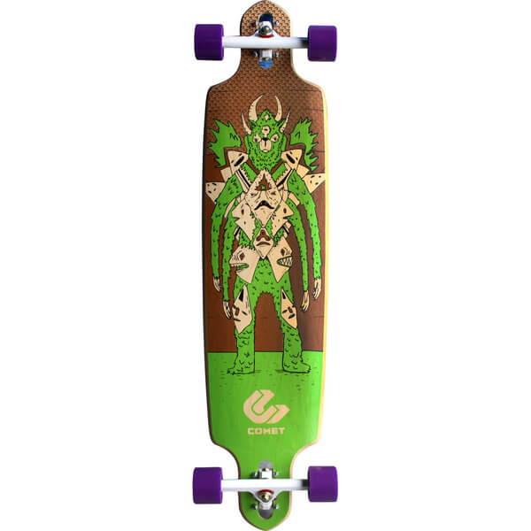 Comet Pagan Complete Downhill Longboard Skateboard
