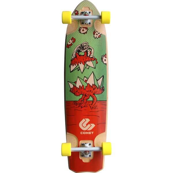 Comet Takeover Complete Longboard Skateboard