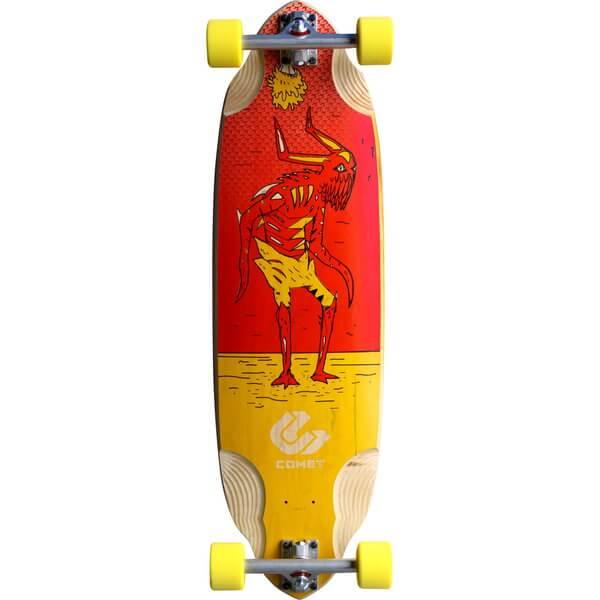 Comet Voodoo D2 Complete Downhill Longboard Skateboard