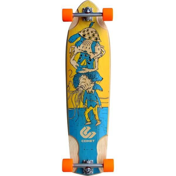 Comet Voodoo Stacked Complete Longboard Skateboard