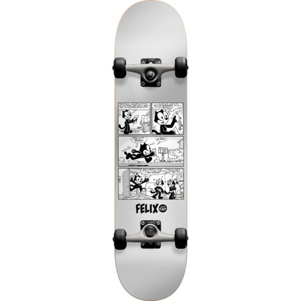"Darkstar Skateboards Felix News Silver Complete Skateboard First Push - 7.87"" x 31.7"""
