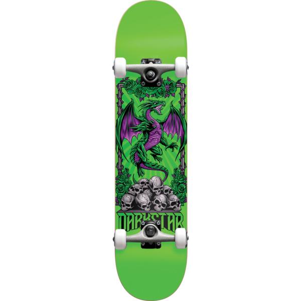 "Darkstar Skateboards Levitate Green Complete Skateboard Soft Wheel - 8"" x 31.6"""