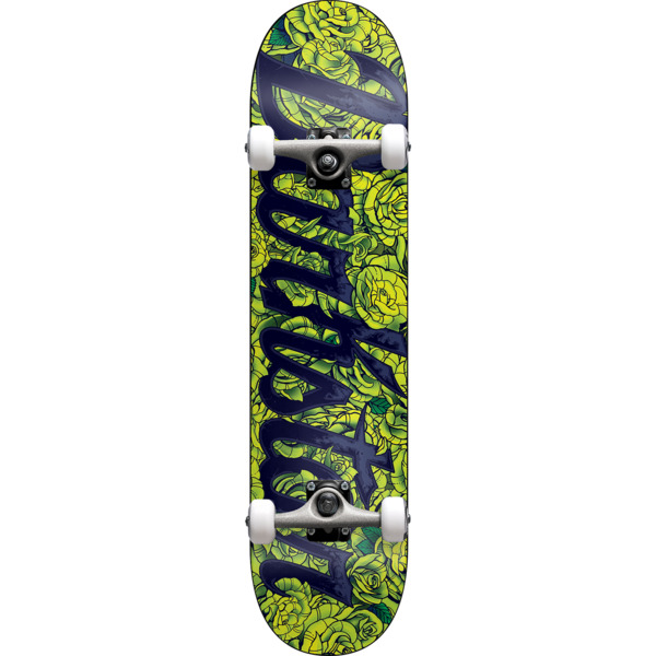 "Darkstar Skateboards Roses Lime Complete Skateboard - 7.75"" x 31.2"""