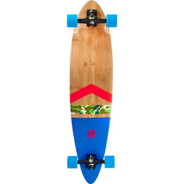 Db Longboards Anthem Bamboo Fiberglass Pintail 42 Blue
