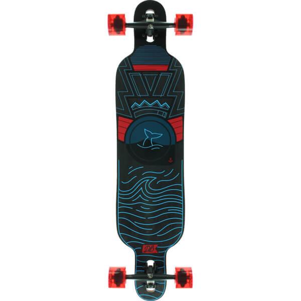 """DB Longboards Pioneer 40 Oceans Longboard Complete Skateboard - 9.25"""" x 40"""""""