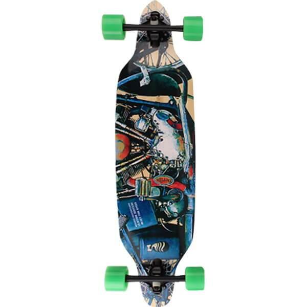 Deville Bobber Complete Downhill Longboard Skateboard